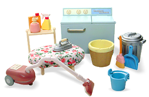 Calico Critters Let S Clean Household Appliance Set
